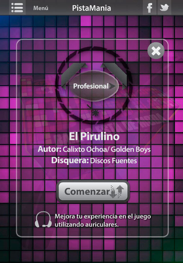 Screenshot La Pista Juego